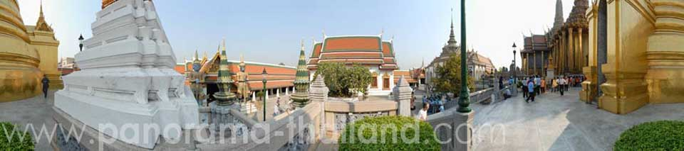 Thailand 360° Panorama Golden Chedi