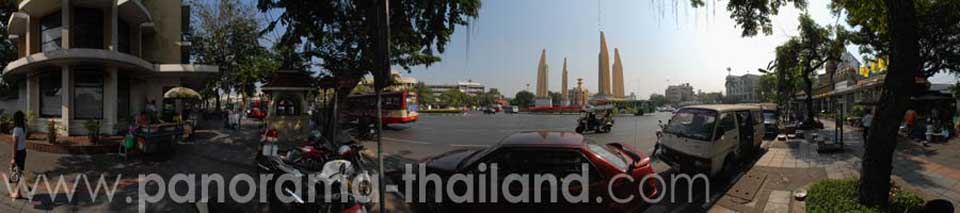 Thailand 360° Panorama Democracy Monument