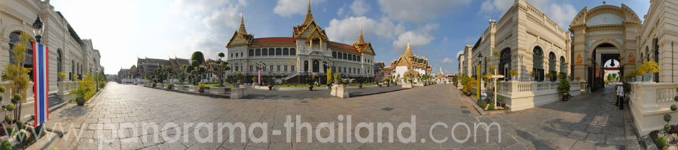 360° panorama Grand Palace Bangkok
