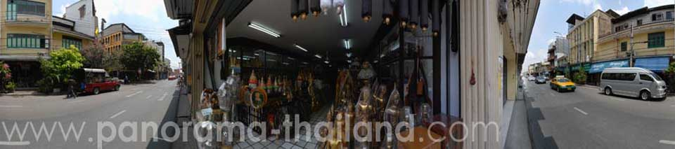 Thailand 360° Panorama Monk Shop