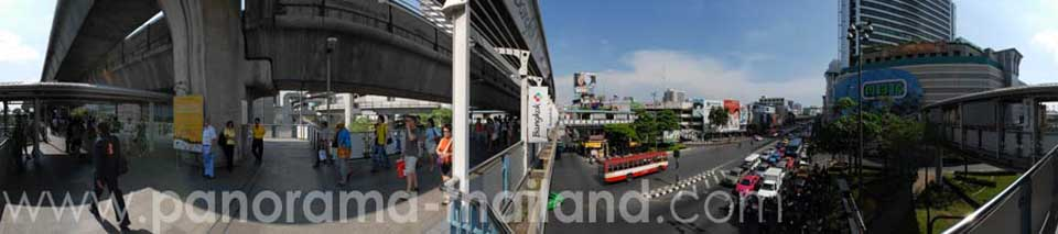 Thailand 360° Panorama MBK Shopping