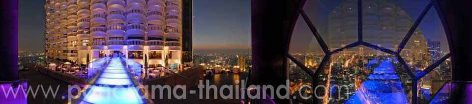 360° panorama Breeze Restaurant Bangkok