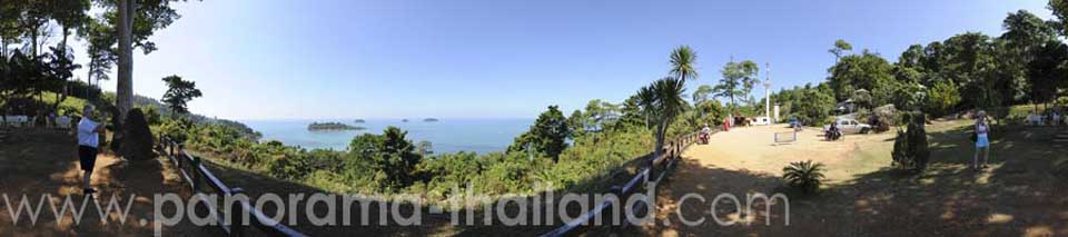 Thailand 360° Panorama Viewpoint Koh Chang