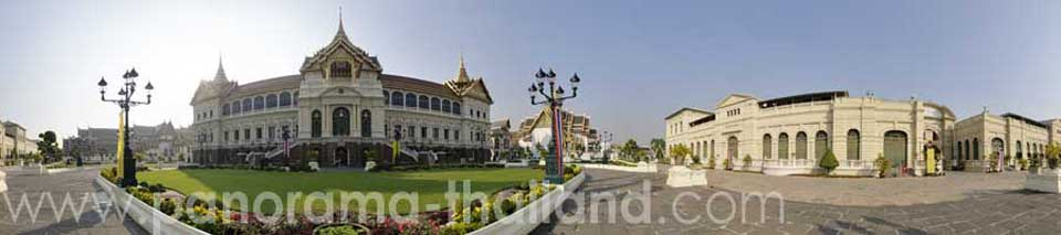 Thailand 360° Panorama Grand Palace
